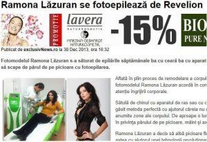 Ramona Lazuran se epileaza definitiv la Nomasvello