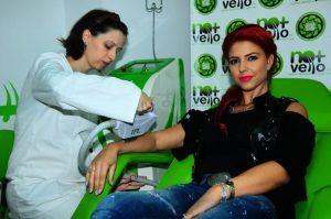 Roxana Postelnicu (Heaven) la salonul No+Vello