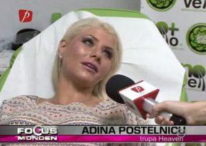 Adina de la Heaven se epileaza definitiv