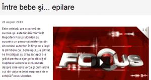 Diana Bisinicu se epileaza definitiv (Prima TV)