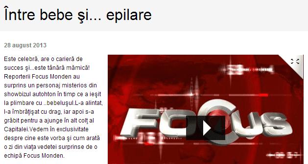 Diana Bisinicu a ales epilarea definitiva pentru a scapa de grija epilatului (Prima TV)