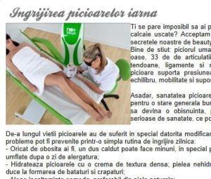 Tratamente corporale cu LED pentru picioare frumoase