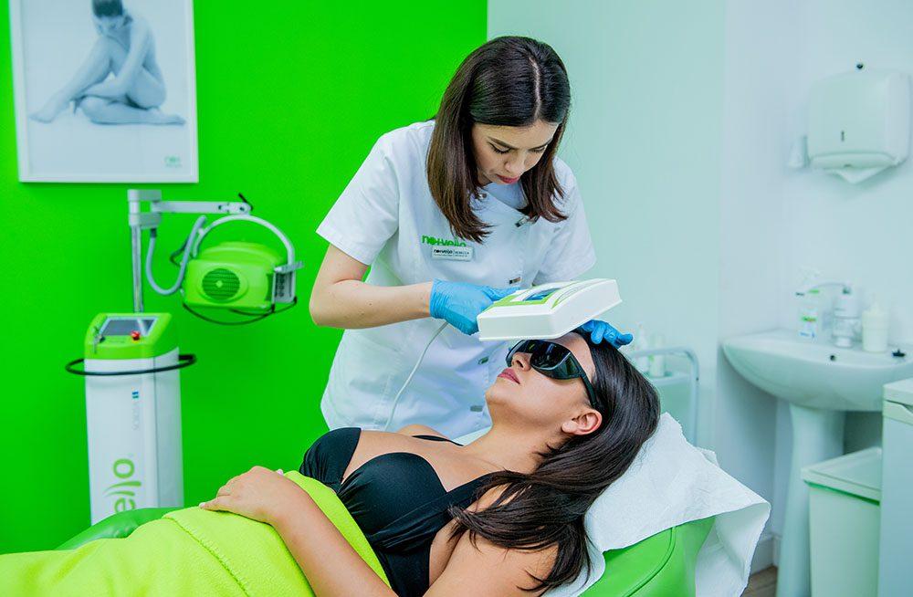 Diagnoza Faciala GRATUITA cu Woodlamp