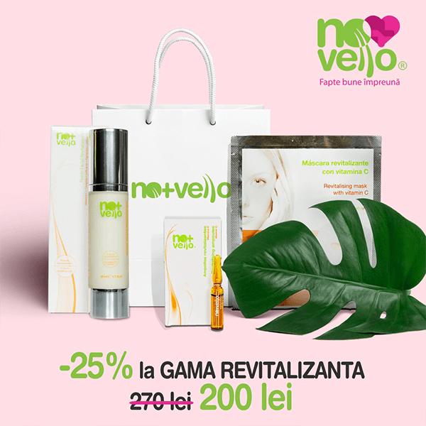 Oferta gama revitalizanta campanie Nomasvello