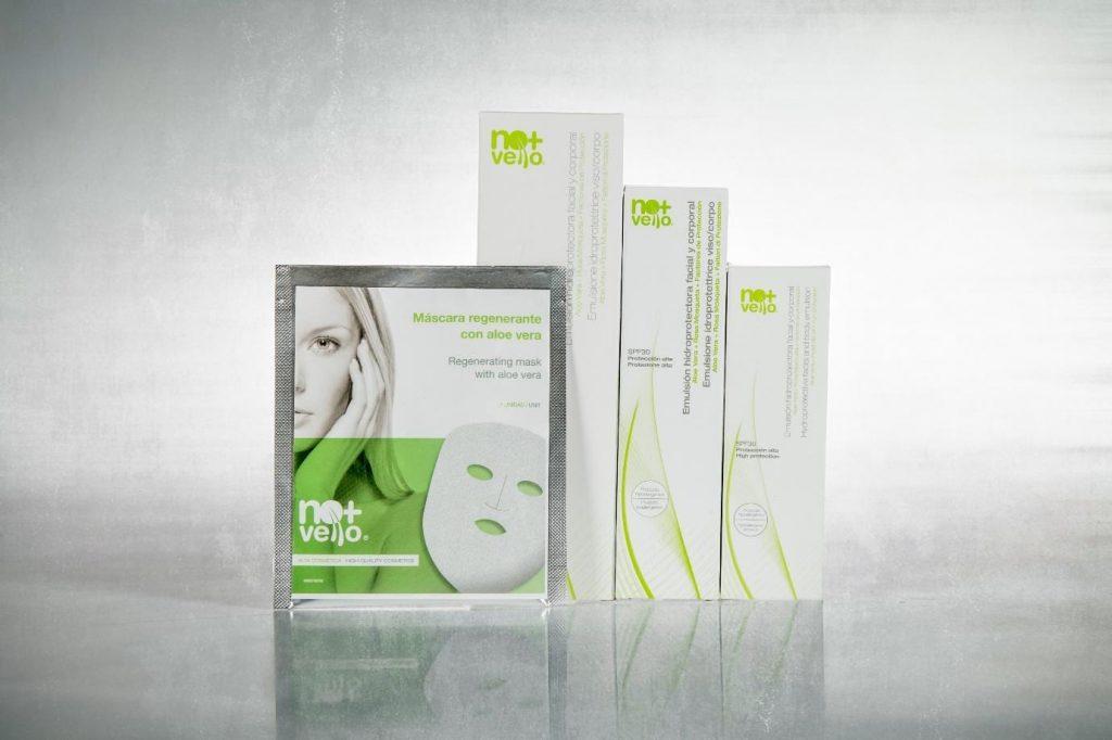 Produse dermatocosmetice Nomasvello cu aloe vera