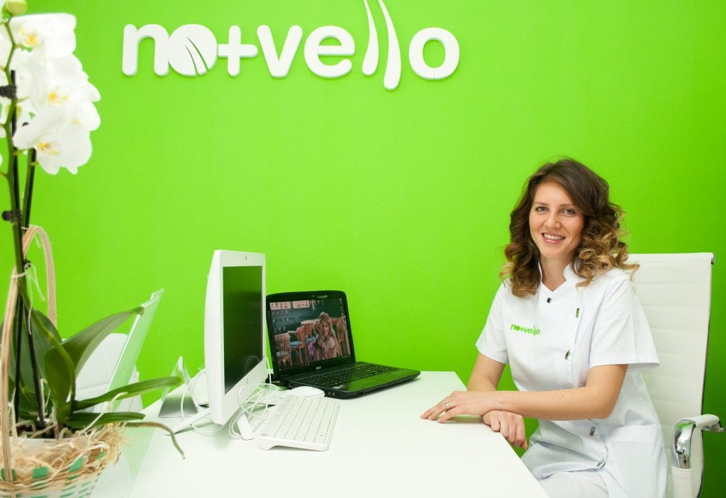 Andreea Popescu- manager Nomasvello Craiova Calea Bucuresti